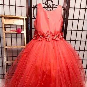 Other - Cecile Girl  Dress Formal size 6 Coral,